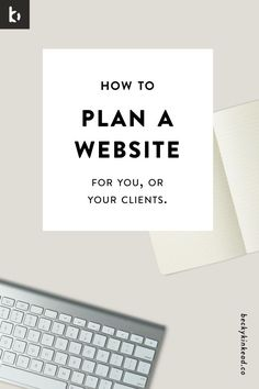 When launching a website, I like to tell clients that 80% of the work happens before we even get started with the actual design & setup of the website. Click here to read the full post or pin and save for later!