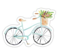 Vintage Fahrrad Abenteuer Floral Bike Aquarell sofortigen Télécharger druckbare Druck – Künstler - New Sites Velo Vintage, Art Vintage, Vintage Bicycles, Etsy Vintage, Watercolour Painting, Painting & Drawing, Watercolors, Watercolor Books, Painting Canvas