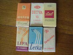 Nie som síce fajčiar,ale takisto to patrí k našej československej histórii a preto treba zaspomínať.Venujem tento článok mojemu nebohému ded... Retro 2, Socialism, Old Photos, Memphis, Childhood Memories, Champagne, Design, Bratislava, Czech Republic