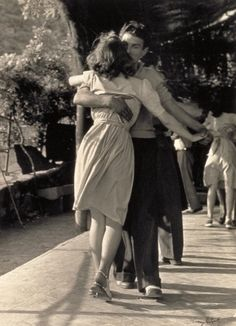 I already wanted to take dance classes. I just need a dance partner to hold me close.