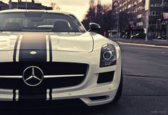Mercedes-Benz SLS Retro by Ni.St|Photography