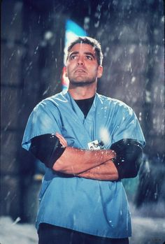 George Clooney as Dr. Doug Ross in ER