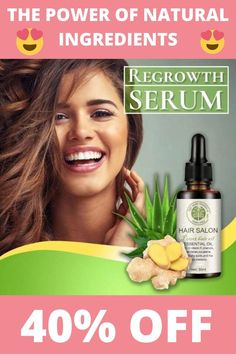 Hair Follicles, Hair Regrowth, Natural Hair Care, Natural Hair Styles, Biotin Hair Growth, Fuller Hair, Hair Serum, Hair Remedies, Hair Restoration