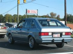 Just like my first car, 1980 Chevette my friends nicknamed DeathTrap; had 4 gears including reverse, hole in the driver's floor, muffler held in place with a wire hanger...but it was a great car!