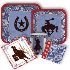 Western Lasso Standard Party Packs, Wild West Party Supplies