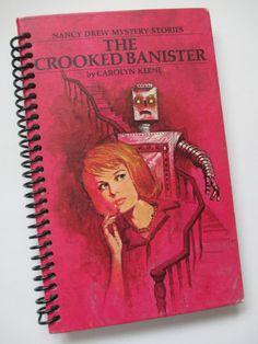 Pink NANCY DREW MYSTERIES book journal notebook