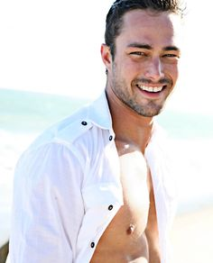 Taylor Kinney inviting me for a swim.