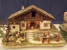 Billedresultat for topp bastelbücher ländliche winterwelt Christmas Pictures, Christmas Crafts, Christmas Decorations, Christmas Tree, Crib Decoration, Hobby Toys, Glitter Houses, Christmas Villages, Flower Fairies