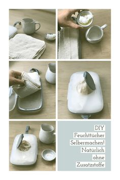 Homemade wet wipe recipe and a Lillydoo wet wipe test Feuchttücher Rezept - Newborn Diaper Change Newborn Diapers, Cloth Diapers, Eco Baby, Baby Baby, Homemade Cleaning Products, Wet Wipe, Plastic Waste, Natural Baby, Baby Time