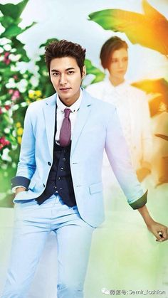 Lee Min Ho in SEMIR Spring 2014- seriously ...let us recover from Heirs first :)