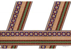 50 mm Indian Saree Borders - Jacquard lace # 002757  unique design of Jacquard saree border for elegant Indian Saree Design, Lehanga, Salwar Kameez	.   This design is made by use of modern color i.e Gold , Green , Maroon Color.   Visit www.lacxo.com more then 250 variety of laces, tapes, trims, ribbons, webbing and such fashion accessories. You can even mail us at info@lacxo.com for your custom saree border requirement.