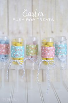 Easter Push Pop Treats