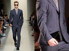black wallet men fashion