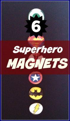Superhero magnets