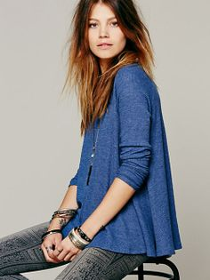 Free People FP X Victorian Scroll Top at Free People Clothing Boutique