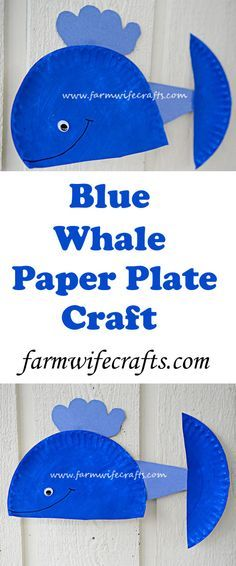 Easy to make this blue whale paper plate craft is perfect for toddlers who love the ocean. perfect for ocean lessons in the classroom.  sc 1 st  Pinterest & Paper Plate Whale | Whale crafts Craft and Easy