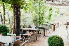 The Petersham nurseries à Londres,un sublime endroit pour boire son thé mais pas que ...