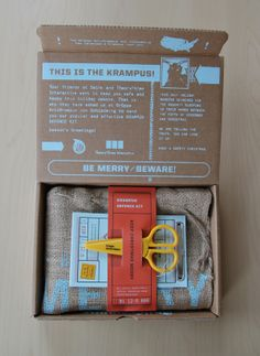 Krampus Defence Kit by Krista Farrell, via Behance