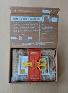 Krampus Defence Kit by Krista Farrell, via Behance