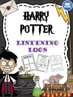 HARRY POTTER LISTENING LOGS Try these new sets of listening logs exploring the music of Harry Potter! There are 30 different sheets varying in difficulty exploring the elements of music that students can use whilst studying.   This set of listening logs include graphic organisers, writing prompts and guided responses. The listening logs are accompanied by a list of links to the music that students can use whilst filling out the sheets.