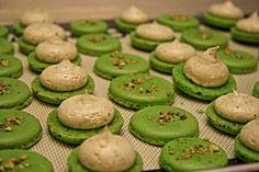 Salted Pistachio Macarons Recipe