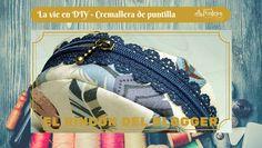 Tutorial de costura para aprender a colocar una cremallera de puntilla en El Rincón del Blogger de Pontejos.