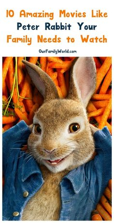Looking for more fabulous family movies like Peter Rabbit? Check out our top 10 favorite movies featuring bunnies in a lead role! Michael Johnson, Vaping, Top Family Movies, Peter Rabbit Movie, Buddha, Romantic Love Stories, Good Movies To Watch, Kids Laughing, Forest Illustration