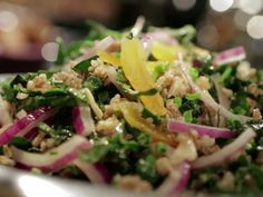 Bulgur Wheat and Kale Salad recipe from Guy Fieri via Food Network