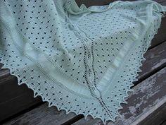 beautyful shawl or babyblanket- free pattern