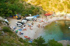 Kleine campings en mini campings in Kroatie