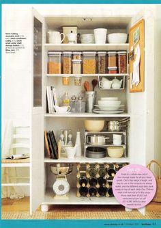Your Home magazine kitchen storage solutions