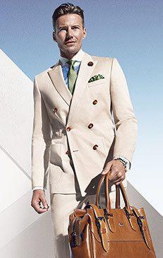 Gentlemen:  #Gentlemen's #fashion ~ Hugo Boss S/S Collection 2014.