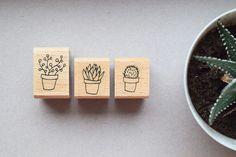 Pflanzen - Illustration · Papierwaren · Kalender · Stempel