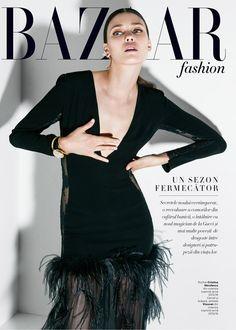 Diana Moldovan for Harper's Bazaar Romania by Dan Beleiu