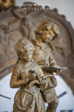 Antique Pr French Statues From France Boy and by edithandevelyn
