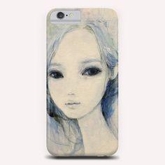 """Blue 24"" Phone Case by Ai Natori on Artsider - http://www.artsider.com/works/24048-blue-24_phone-cases"