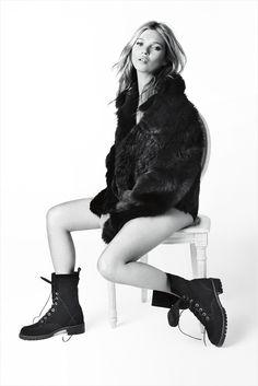 Kate Moss for Stuart Weitzman Fall Winter 2013.14