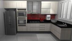 Modern Kitchen Cabinets, Modern Kitchen Design, Home Room Design, House Design, Kitchen Sets, House Rooms, Decoration, House Styles, Furniture