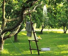 Sweet Paul Outdoor Shower Garden Hose Tree 2 Rev