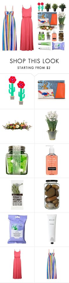 """""""Hey!"""" by icyfrappy ❤ liked on Polyvore featuring Kate Spade, Loewe, Nearly Natural, BULB, Neutrogena, Almay, By Emily, Rodin Olio Lusso and Mara Hoffman"""