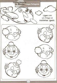 Cantinho das Sugestões.: Março 2009 Comics, Clowns, 1, Toddler Lesson Plans, Spring, Imperial Crown, Cartoons, Comic, Comics And Cartoons