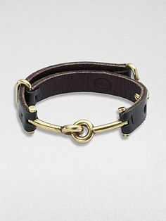 Giles & Brother Archer Leather Cuff Bracelet on shopstyle.com