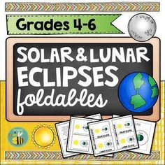 Browse over 80 educational resources created by Satsumas and Bees in the official Teachers Pay Teachers store. Solar Eclipse Facts, Solar Eclipse Activity, Solar And Lunar Eclipse, Solar Eclipse 2017, Science Classroom, Teaching Science, Classroom Ideas, 5th Grade Science, Science Notebooks