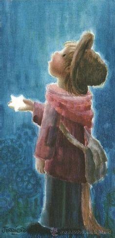 Vintage Christmas Cards, Vintage Cards, Ecole Art, Good Night Moon, Amazing Drawings, Illustrations, Cute Illustration, Stars And Moon, Wonderful Images