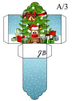 Christmas Gift Box, Christmas Makes, Christmas Holidays, Christmas Crafts, Christmas Decorations, Christmas Ornaments, Christmas Tree, Diy And Crafts, Crafts For Kids