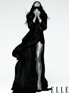 Naomi Campbell in Elle Magazine February 2013 Photo 3