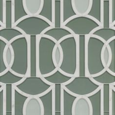 lexington grande mosaic in jade green clear glass, aventurine green clear glass and calacatta oro stone Stone Mosaic, Mosaic Tiles, Mosaics, Glass Tiles, Laundry Room Remodel, Vintage Kitchen, Backsplash, Clear Glass, Liberty