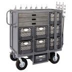 Studio Carts SCC-102 Seven Crate Cart for Studio / Stage