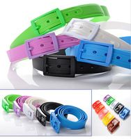 flat rubber silicone belt