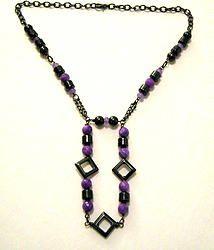Elysian Collection - Purple Jade/Hematite